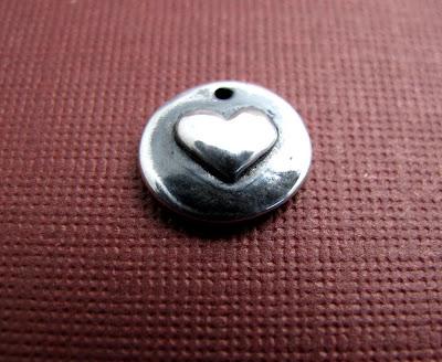 silver valentine heart charm jewelry bracelet