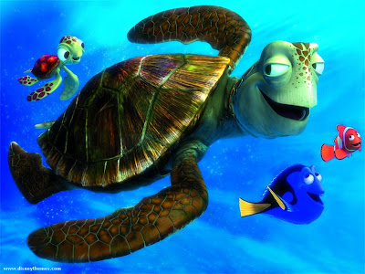 crush sea turtle finding nemo movie