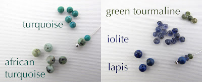 blue green turquoise gemstones