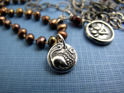 silver lion charm necklace heart jewelry
