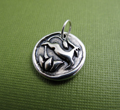sterling silver gazelle charm dave ramsey jewelry