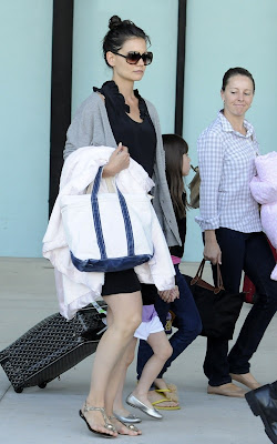 Katie Holmes and Suri Cruise in Ft Lauderdale