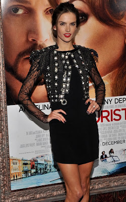 Alessandra Ambrosio at the premiere of