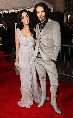 Russell brand with Katy Perry at