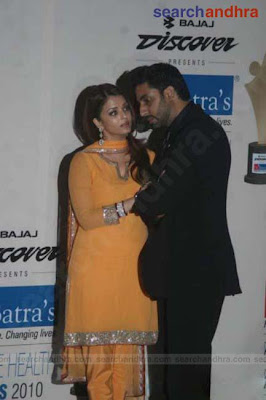 Aishwarya & Abhishek at Dr. Batra's Positive Health Awards - Photo Gallery