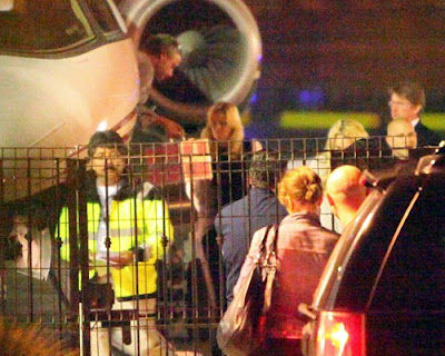 Britney Spears and Jason Trawick arriving in Mexico