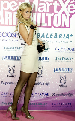 Paris Hilton at the Supermartxe VIP Party