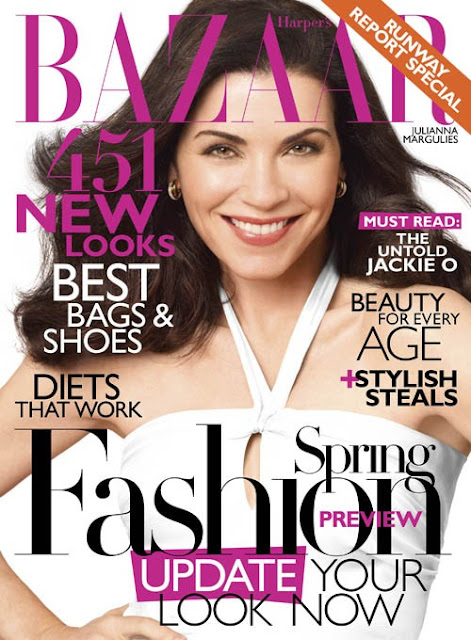 Julianna Margulies Harper's Bazaar January 2011
