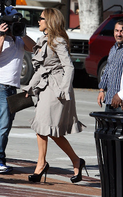 Jennifer Lopez and Steven Tyler out in Pasadena