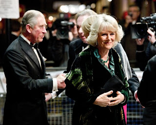 Prince Charles and Camilla at the Royal Variety Show Pics