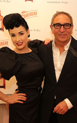 Dita Von Teese at a Cointreau event at Fred Segal