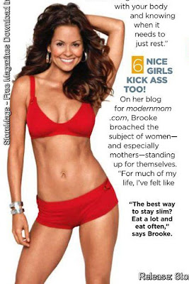 Brooke Burke SHAPE Magazine January 2011