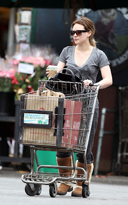 Hilary Duff spotted out for Pilates class in Toluca Lake