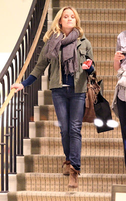 Reese Witherspoon out shopping at Barneys New York in Beverly Hills