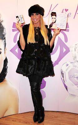 Katie Price at her 'Precious Love' perfume signing at Allders Croydon