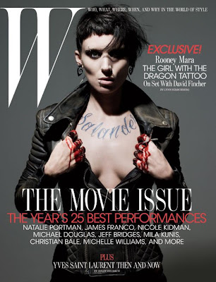 Rooney Mara W Magazine Photos