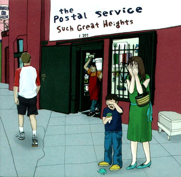 The Postal Service - Such Great Heights (Team Bayside High Bootleg)