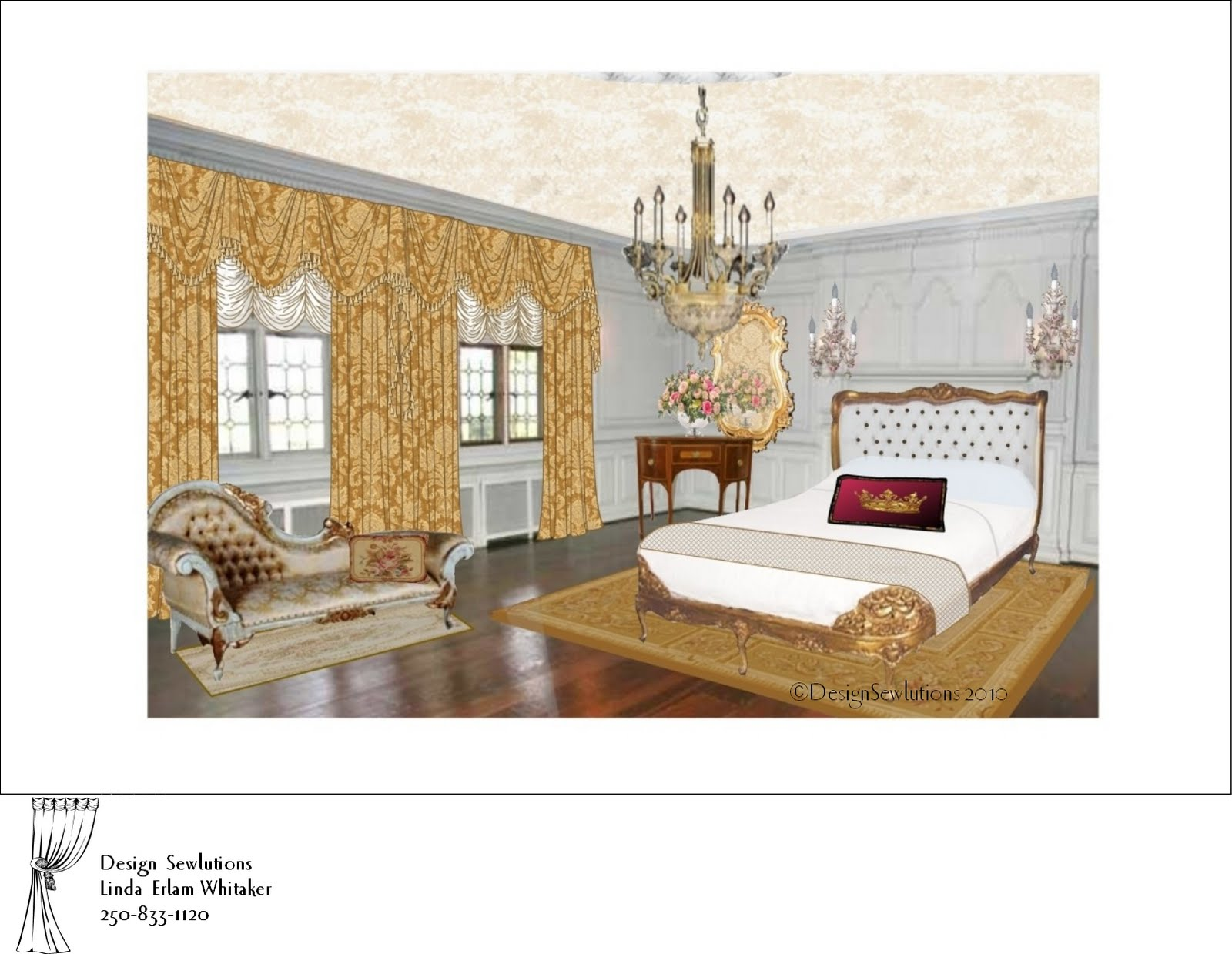 A Bit Of A Fantasy Bedroom Design Sewlutions