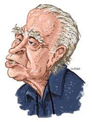 Ignácio de Loyola Brandão, caricatura do genial Lucas Lima