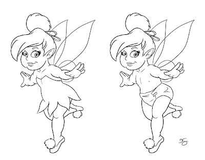 tinkerbell tattoos. a quot;Baby Tinkerbellquot; tattoo