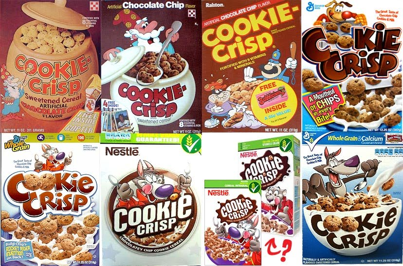 Cereal Cookie Crisp http://litanyofschist.blogspot.com/2010/06/evolution-of-cookie-crisp-cereal.html