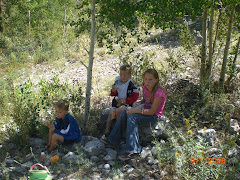 Kids at Mt. Charleston - Aug. 31