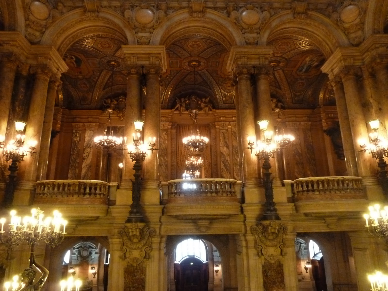 self guided tour palais garnier