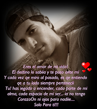 mi amoOrsote ♥