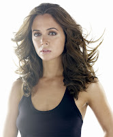 Eliza Dushku portrays Faith in Joss Whedon's latest television series, Dollhouse