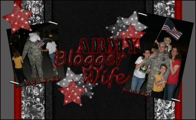 Army Blogger Wife