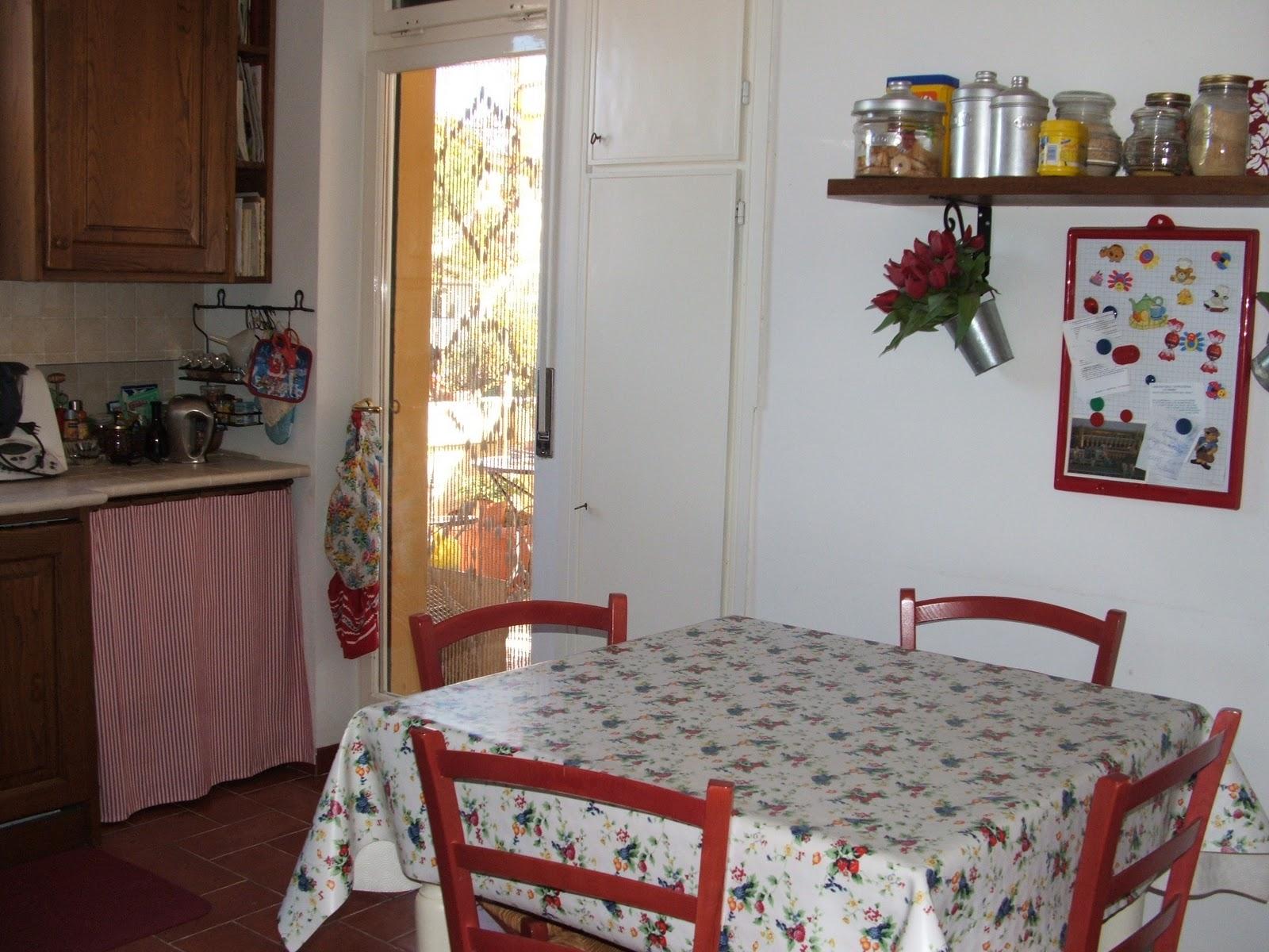 Casa della mamma benvenuti nella mia cucina - Tendine x cucina ...