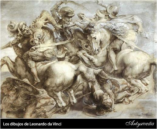 Los dibujos de Leonardo Da Vinci