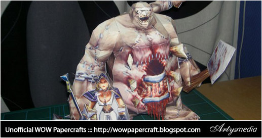 Unofficial WOW Papercrafts