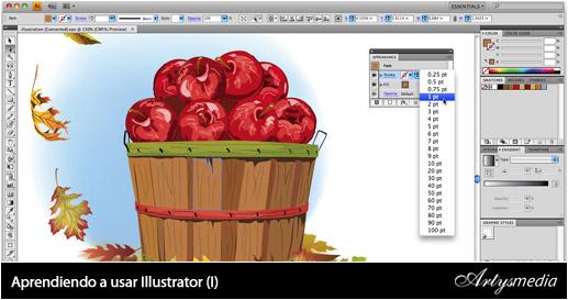 Aprendiendo a usar Illustrator (I)