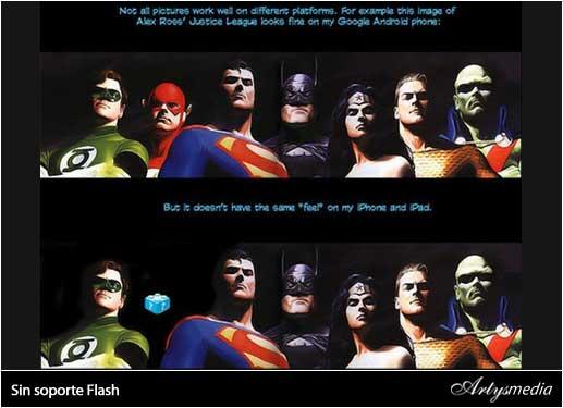 iPad sin soporte Flash