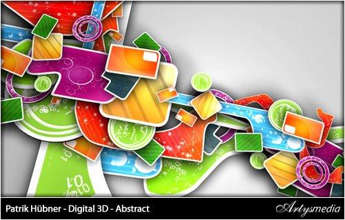 Patrik Hübner - Digital 3D - Abstract