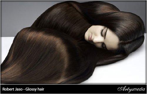 Robert Jaso - Glossy hair