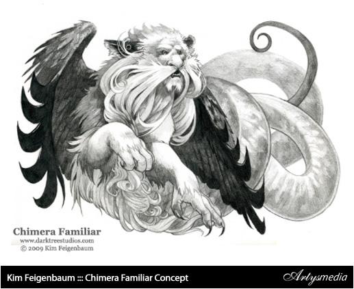 Kim Feigenbaum ::: Chimera Familiar Concept