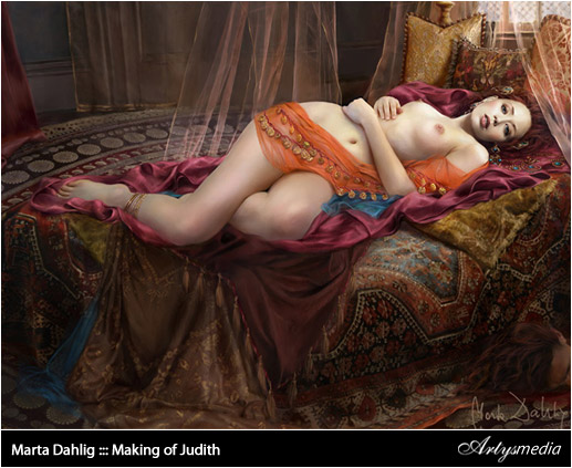 Marta Dahlig ::: Making of Judith