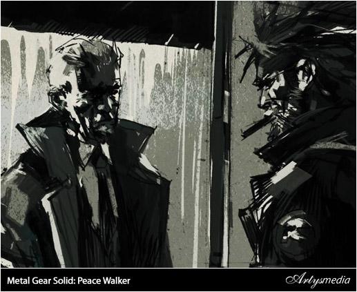 Metal Gear Solid: Peace Walker ::: Artwork