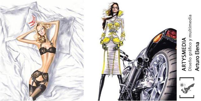 Arturo Elena, el ilustrador de moda