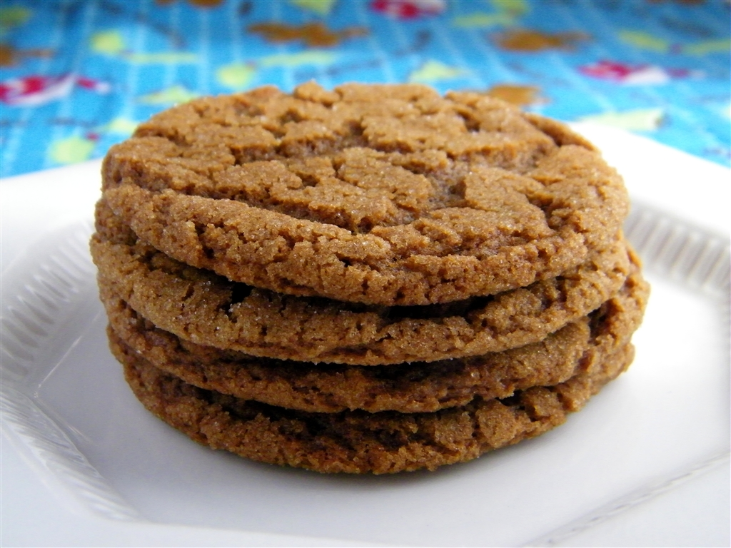 Alphabet Soup: Chewy Ginger Snaps