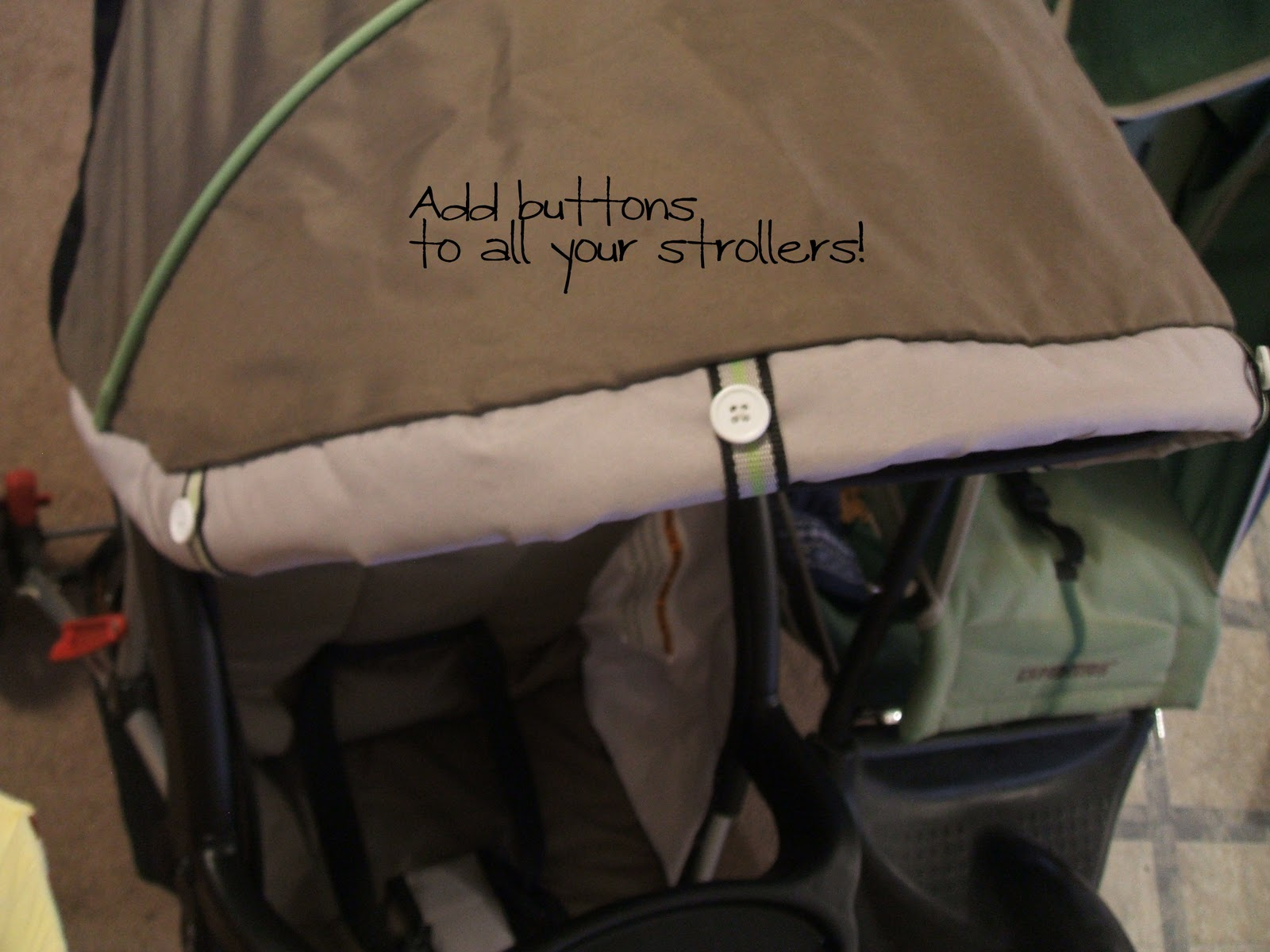 If you are making this for a standard stroller I recommend adding ribbon ties along each side and at the bottom. Otherwise your baby will try to tear the ... & Jogging Stroller Cover Tutorial - Peek-a-Boo Pages - Patterns ...