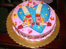Hermosa torta de Floricienta