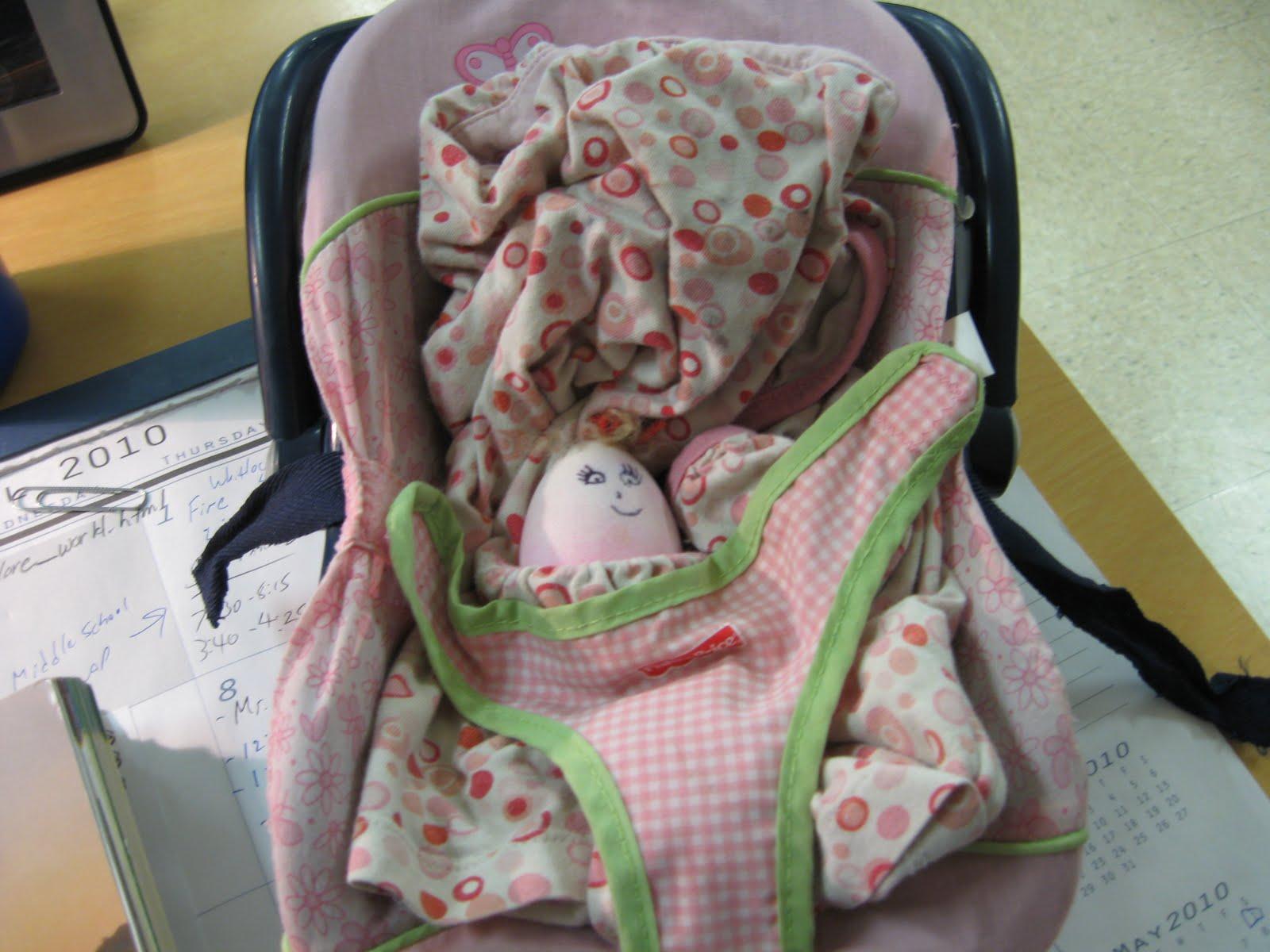 Egg Baby Carrie...