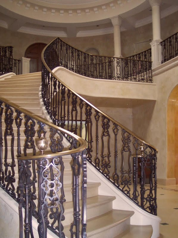 stair railings interior