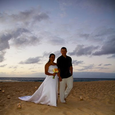 Beach Wedding Songs on Hawaii Beach Wedding Slideshow