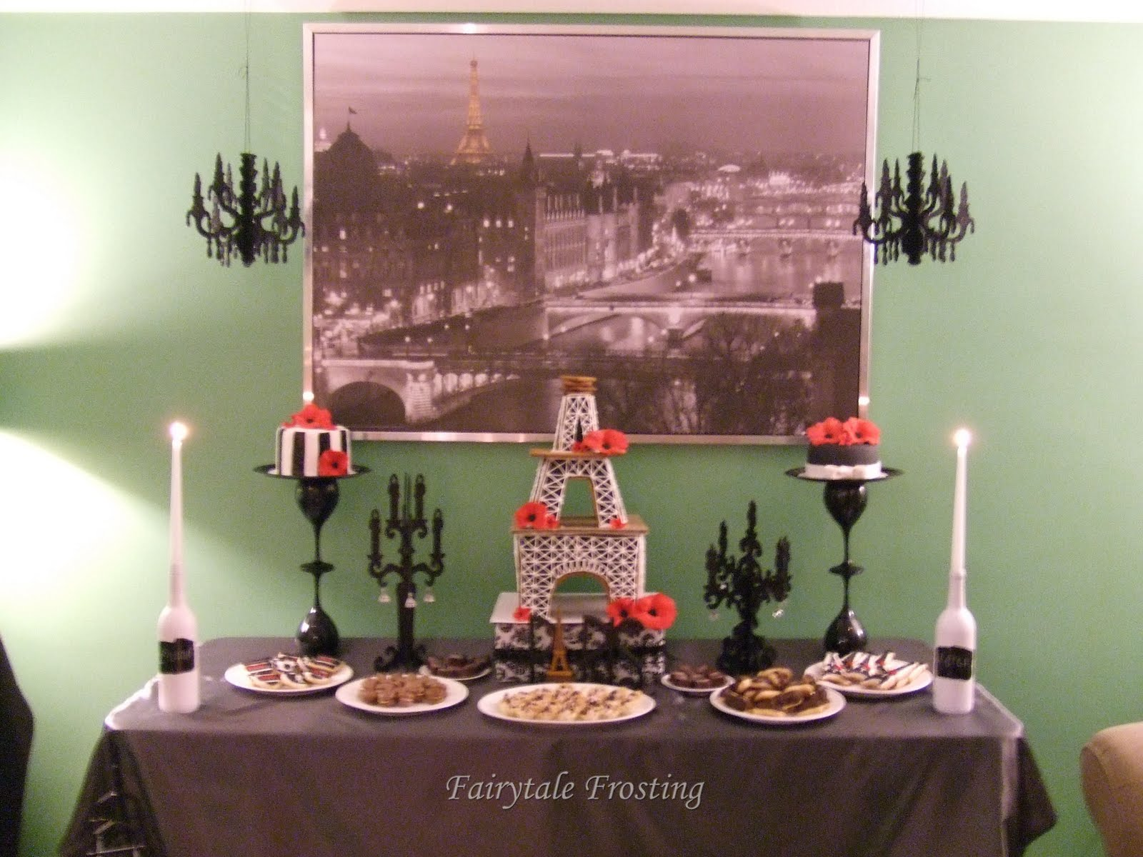 Swanky Parisian Soiree & Fairytale Frosting: Swanky Parisian Soiree