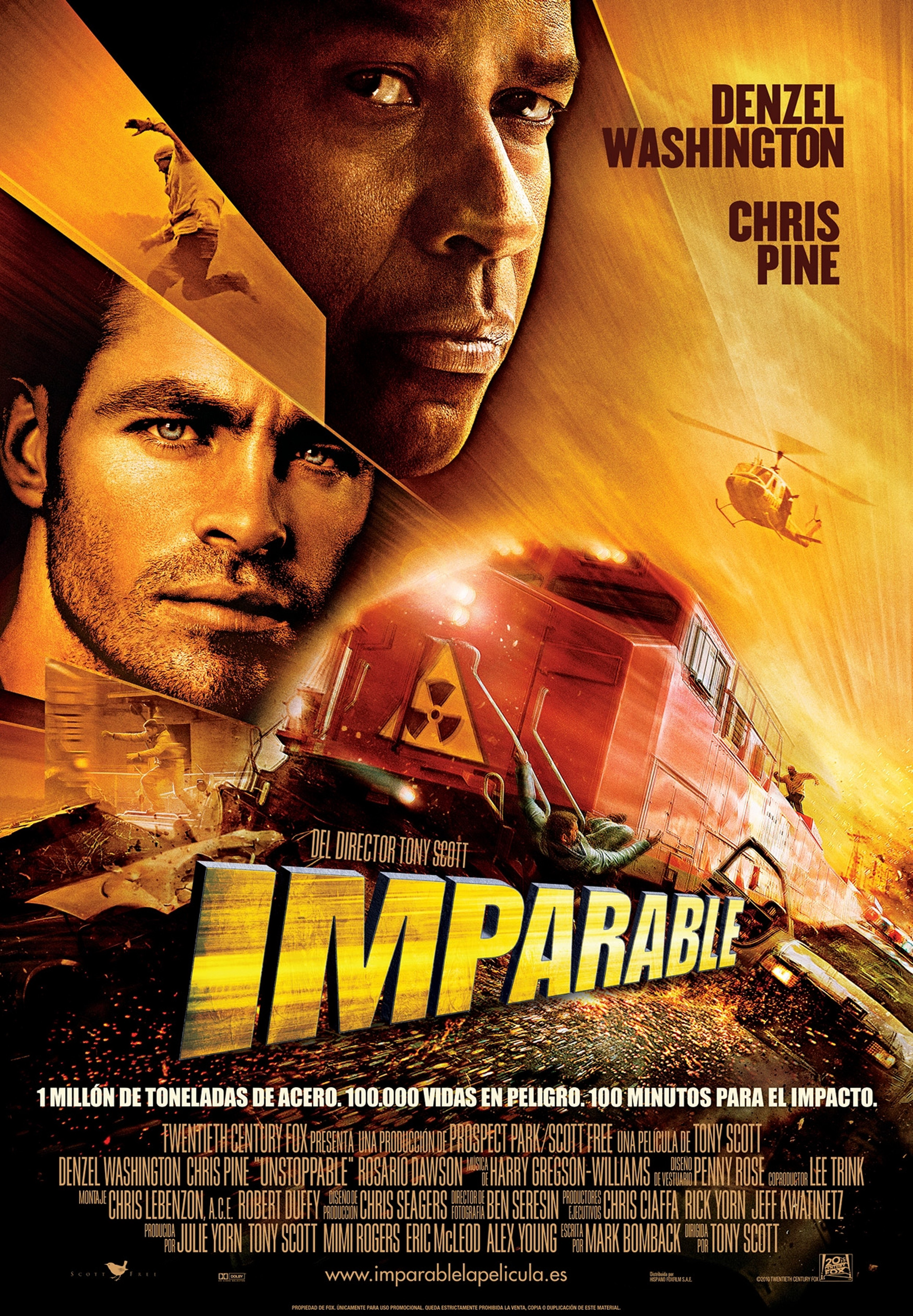 Unstoppable (2010):The Lighted