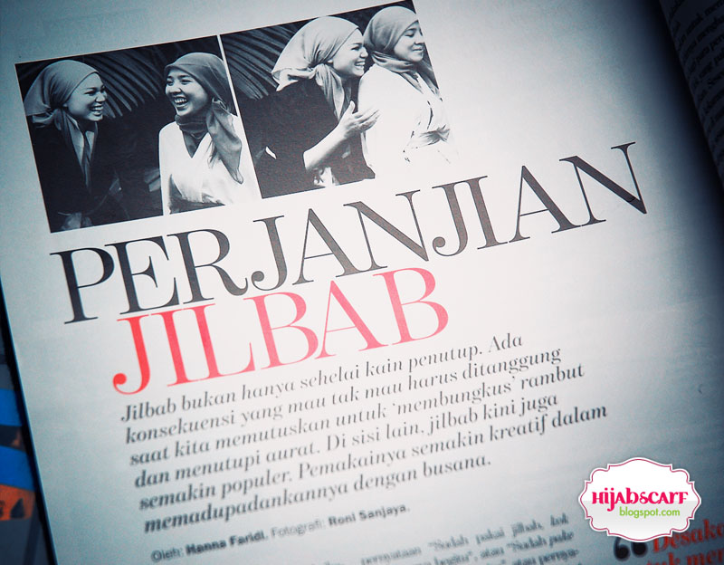 Media Exposure : Marie Claire - Hijab Scarf